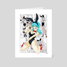 Bunny Bulma manga - Art Card by Damien