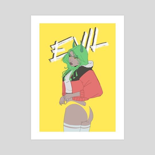 E V I L by Charlie Cruz