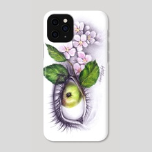 Apple of my eye - Phone Case by e Drawings38
