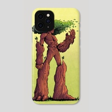 CHAMPIONS OF HARA: LEAF - Phone Case by Jason Piperberg