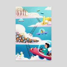 Cloud World - Canvas by Yvonne WU