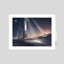 Detection Tower - Art Card by Adam Paquette