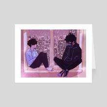 summer storm - Art Card by vivi