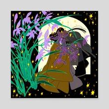Lan Hua Lesbians - Canvas by Sarula Bao