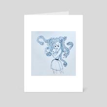 Just a trim - Art Card by Brooklyn Walker