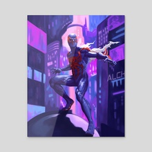 Welcome to 2099 - Acrylic by Danny Ryba