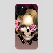Skull_face - Phone Case by Gabriela Faveri