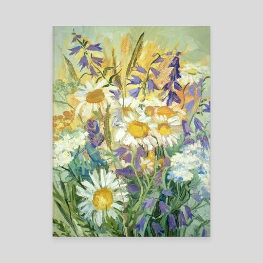 Summer bouquet by Dina Morzhina