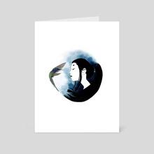 Hummingbird - Art Card by Amity Miyabi