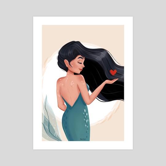 Heart Mermaid by Ankita Mehta