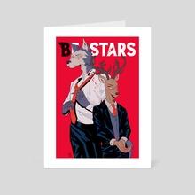 Beastars - Legosi & Louis - Art Card by Daphnée PIRKER