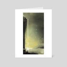 The Vision - Art Card by George Skodras