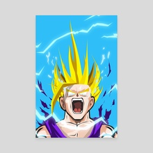 S2 Gohan  - Canvas by Kode Subject