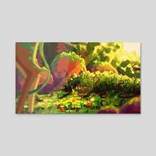 Lurk - Acrylic by Fanks