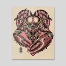 Lobstah - Acrylic by Nick Barbarian