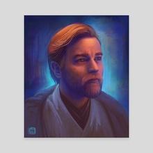 Obi-Wan Kenobi - Canvas by Neleilis