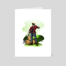 Casual wolverine / X-men - Art Card by Jhony Caballero