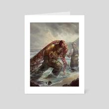 Diver's Haul - Art Card by Julie Dillon