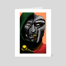 Dr.Viktor Von Doom - Art Card by Therrious Davis