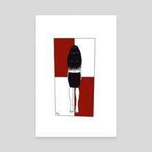 Crooked - Canvas by Chiara Congedi