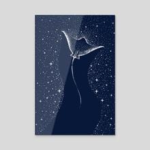 Star Collector - Acrylic by Alirıza ÇAKIR