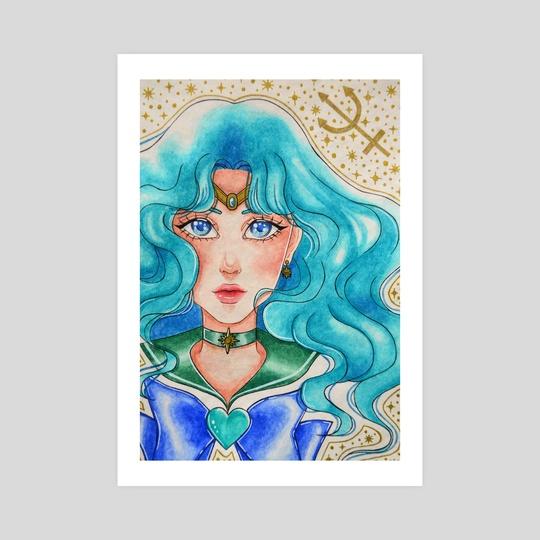 Sailor Neptune by Meowale Art