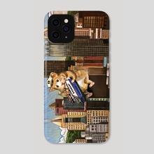 Pittsburgh Hamsters - Phone Case by Dan Blaushild