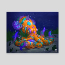 The Mandarintopus - Canvas by Amir Levi