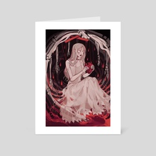 blood theater - Art Card by vacuum