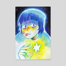 Star Holder - Canvas by Dani Clover-Flick