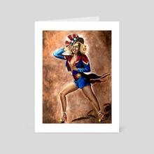 Danvers Rockette - Art Card by Lindsay Platoshyn