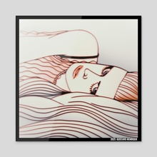 In My Bed - Acrylic by Gustavo Henrique