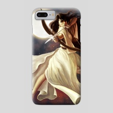 Goddess of the Moon - Phone Case by Christy Tortland