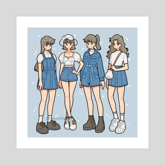 Blue fits by fresh_bobatae