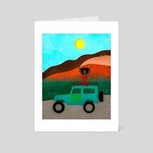 Hawai  - Art Card by Lori Saint Rome