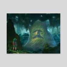 The Great Deku Tree - Canvas by Robert Raeder