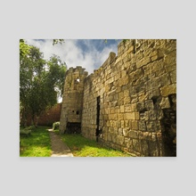 York castle - Canvas by Eve King