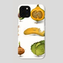 Rotten Fruit Friends set 2 - Phone Case by Tom Bonson