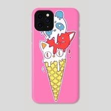 Ice Cream - Phone Case by Indré Bankauskaité