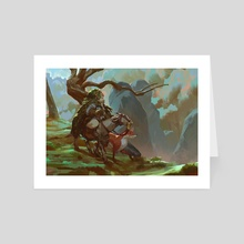 Circle - Art Card by Even Mehl Amundsen