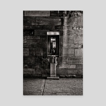 Phone Booth No 10 - Canvas by Brian Carson