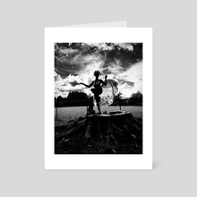 Messenger I  - Art Card by Black Ganesha Consulting