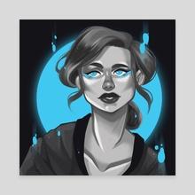 Mandy - Canvas by Jaci Eatherton