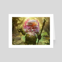Sporecrown Thallid - Art Card by Bram Sels