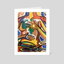 Healing the Body - Art Card by Kiara  Florez