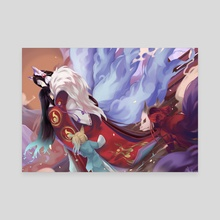 Reunion - Canvas by Mitsukiven