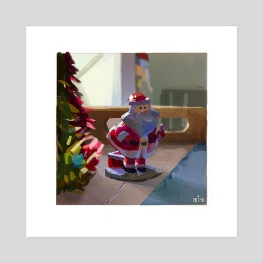 Santa (morning) by Priya kakati
