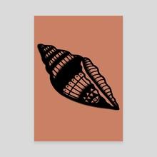 Sea Shell By Marianna McNeil - Canvas by Marianna Devon Combei
