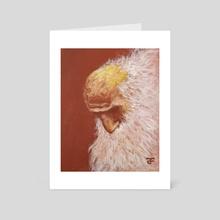 Wise Man - Art Card by Paul Filenko