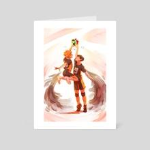 We Can Fly (Haikyuu!) - Art Card by Devon Decker